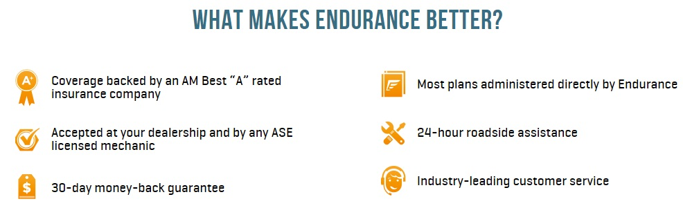 endurance warranty best auto warranties