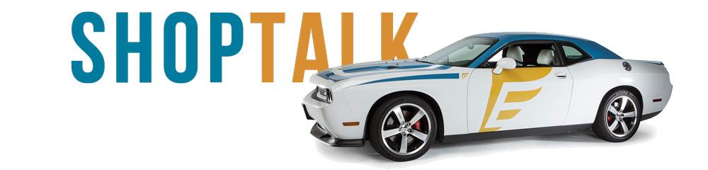 Dodge Challenger in white with Endurance warranty logo