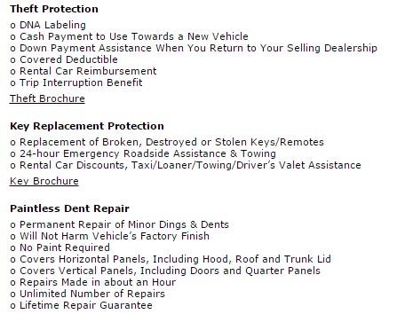 nissan warranty protection features