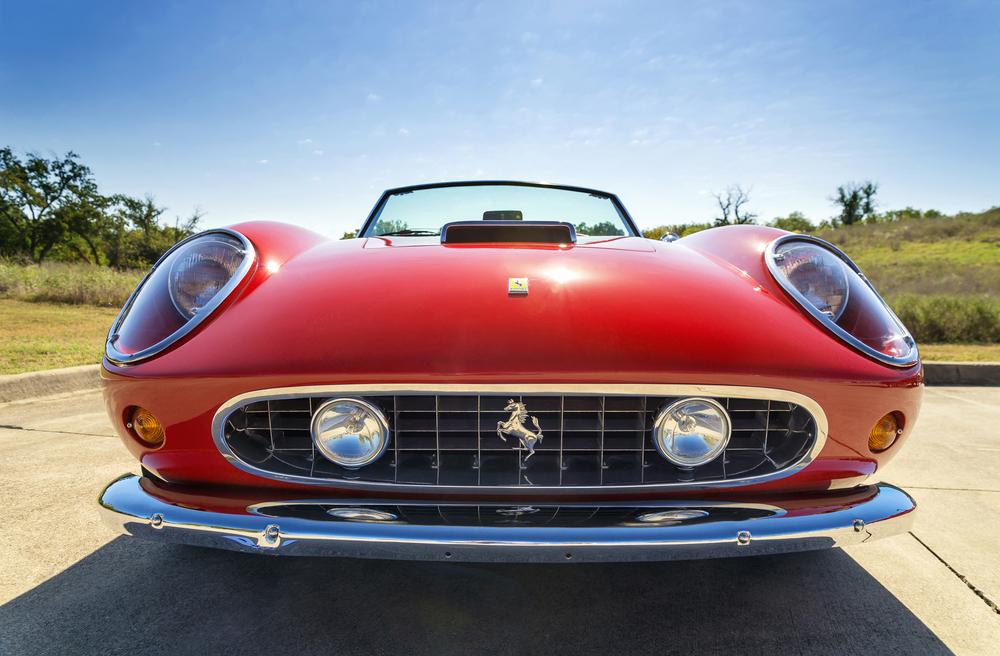 Red 1962 Ferrari 250 GT California Spyder
