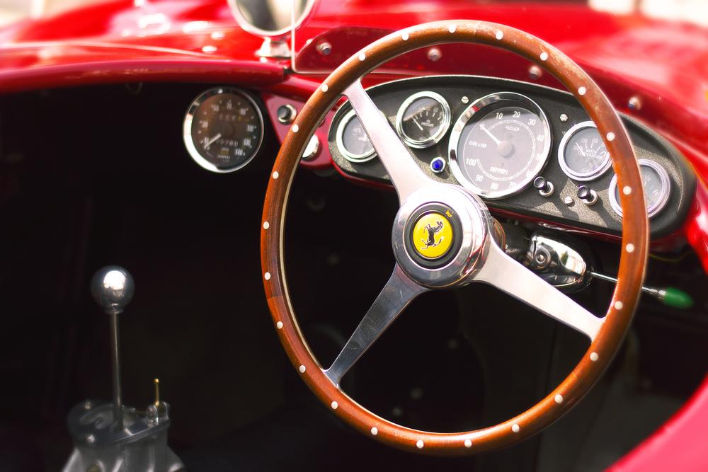 Ferrari GT Cabriolet Steel Wheel
