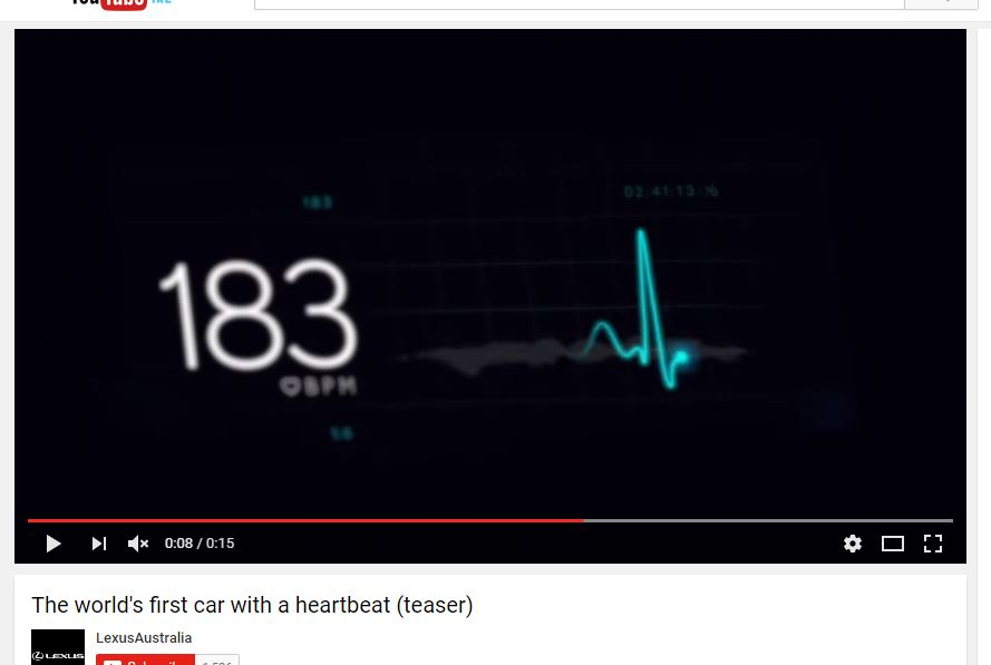 Heartbeat Monitor Car