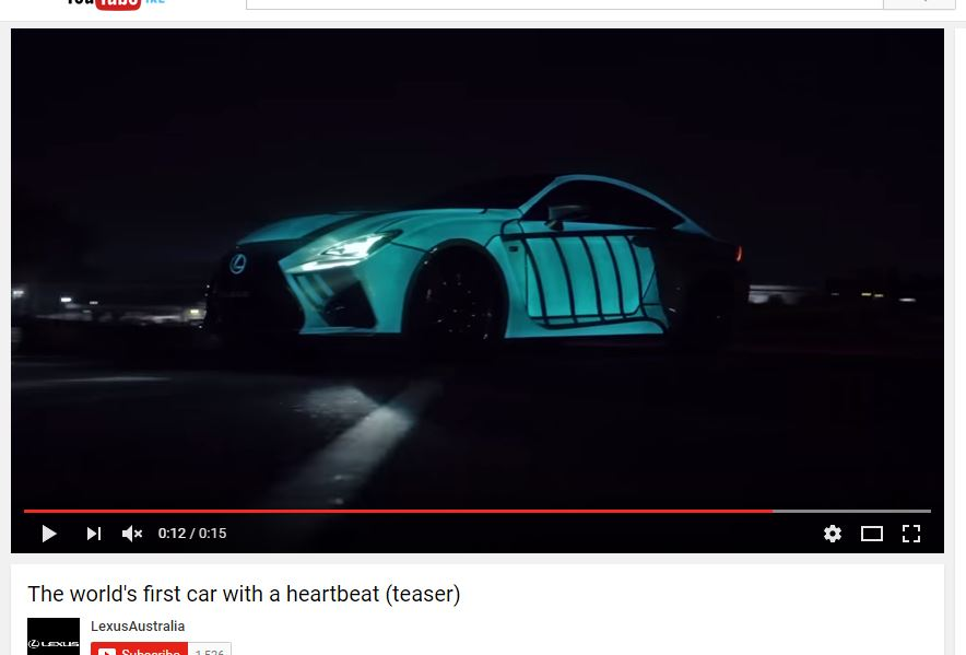 Lexus Heatbeat Car