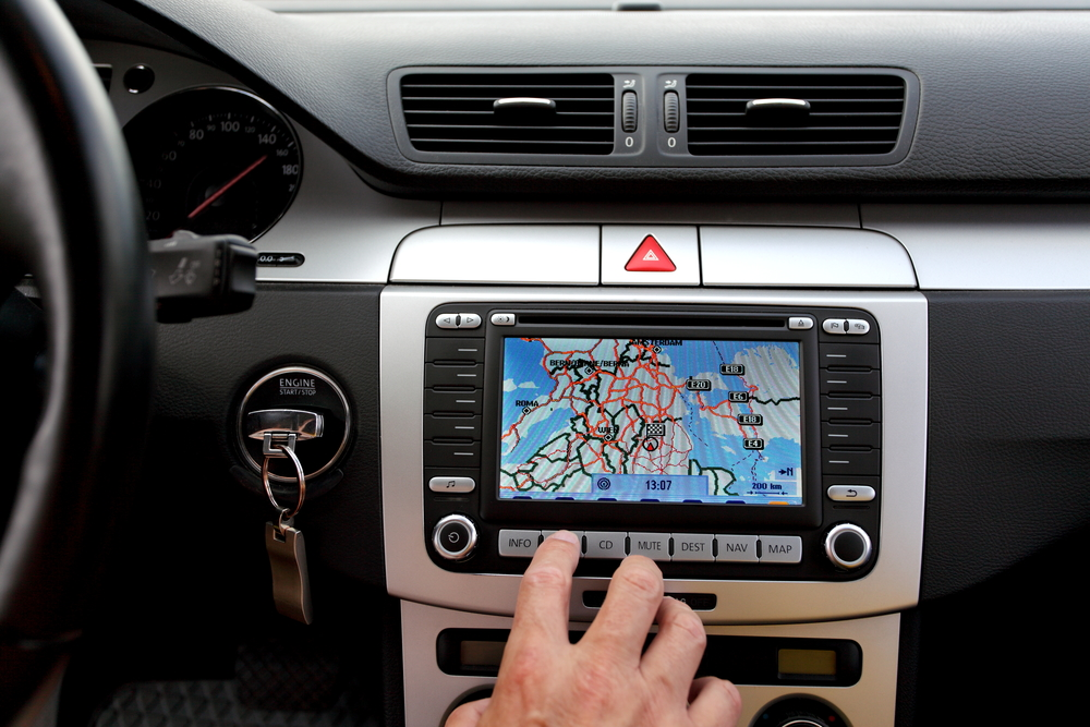 GPS inside car