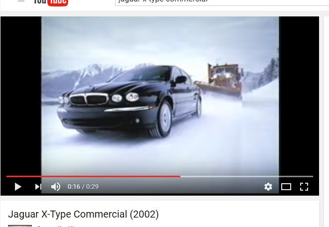 Jaguar X-Type commercial Screenshot