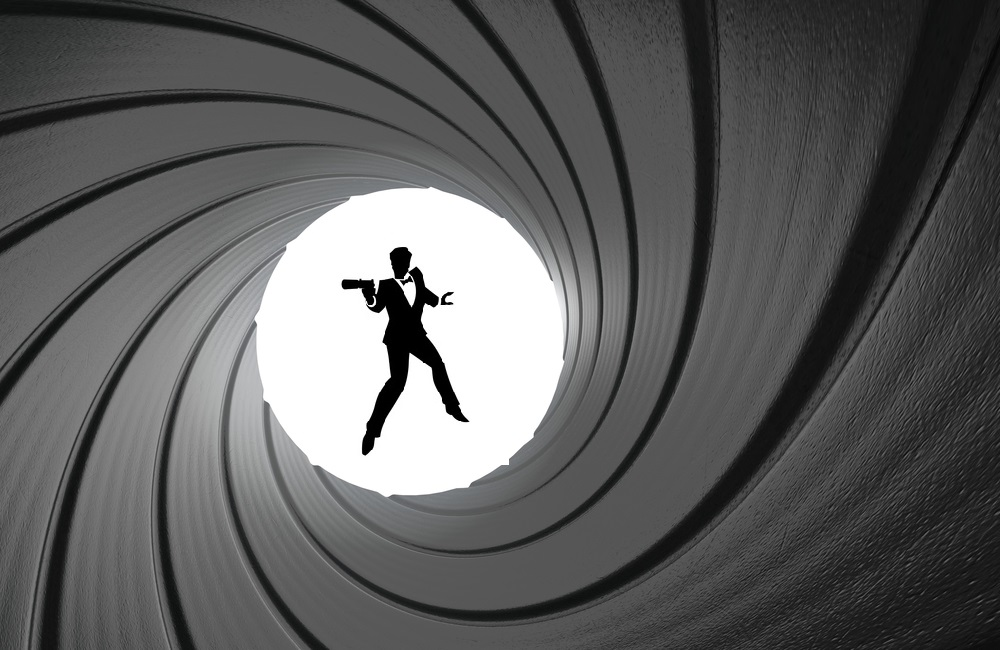 James Bond, Gun Barrel Logo