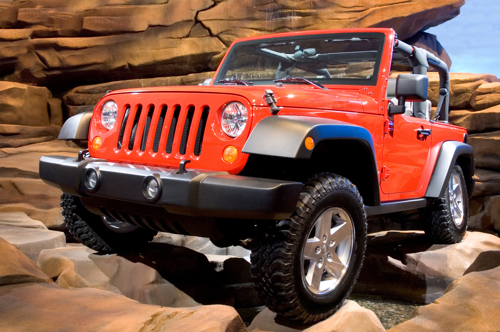 2006 Jeep Wrangler Rubicon. Seen at the 2006 Detroit auto show. Many more cars in my gallery.