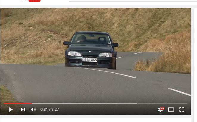 Lotus Carlton Youtube Screenshot