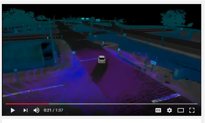 Ford self-driving map tech