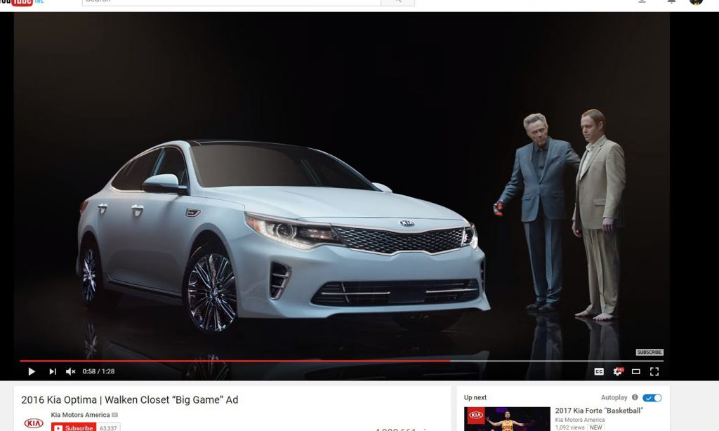 SuperBowl Kia Optima Ad