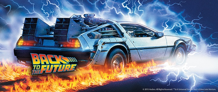 """Back to the Future"" (1985). Courtesy of Universal Pictures and Hasbro."