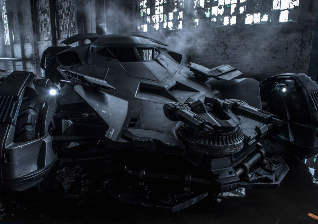 Batman v Superman Dawn of Justice, Batmobile, 2016,