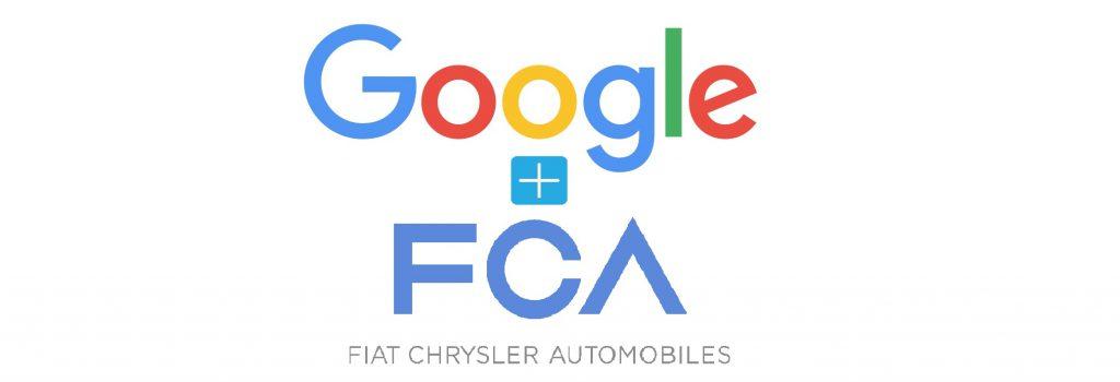 FCA and Google Logos