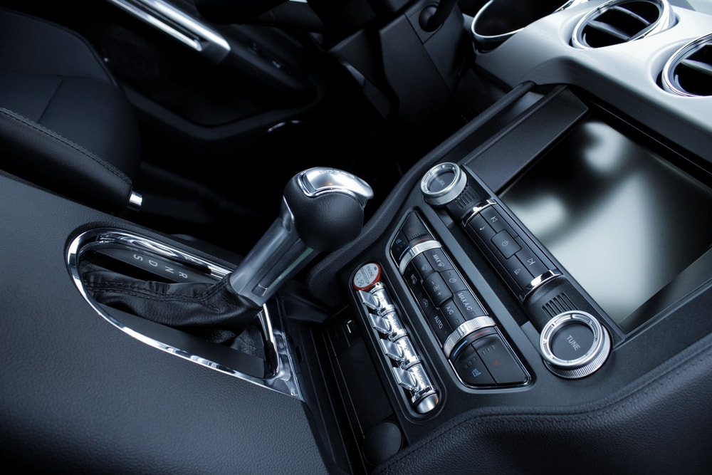 Car Navigation control console