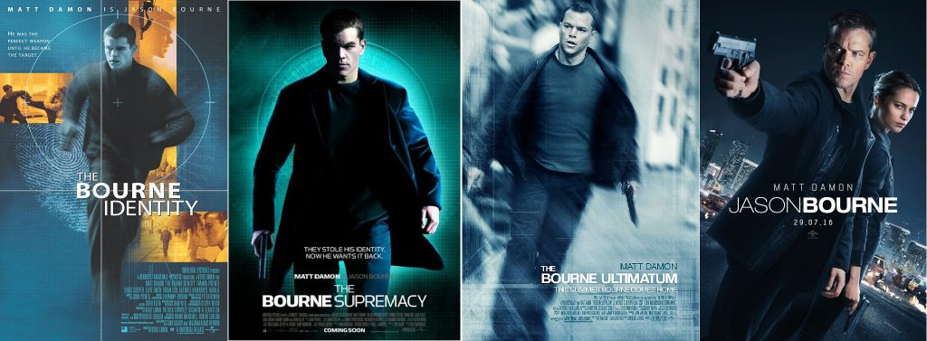 Bourne_Franchies_Movie_Posters