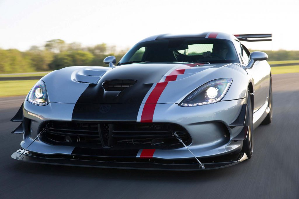 016 Dodge Viper ACR with Extreme Aero package