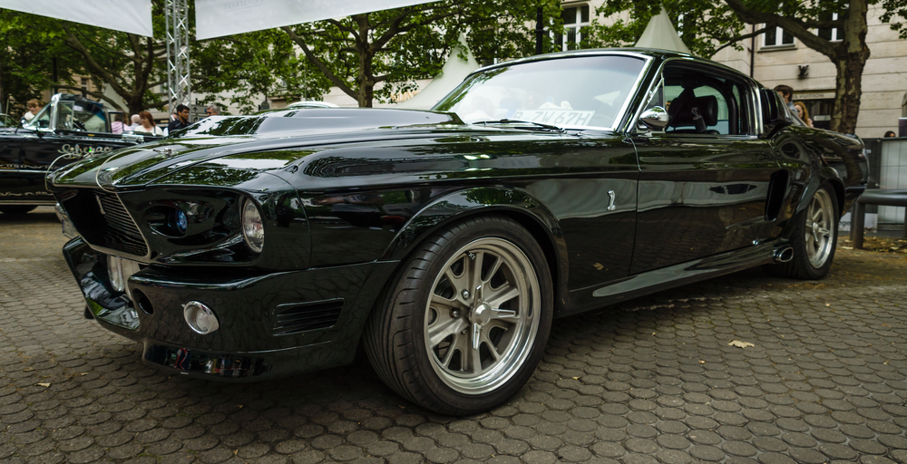 "Pony car Ford Shelby GT500 ""Eleanor"" Super Snake. The Classic Days on Kurfuerstendamm."