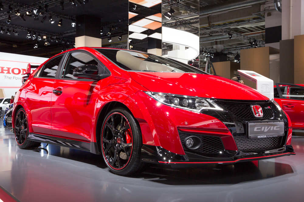 Honda Civic Type R shown at the IAA