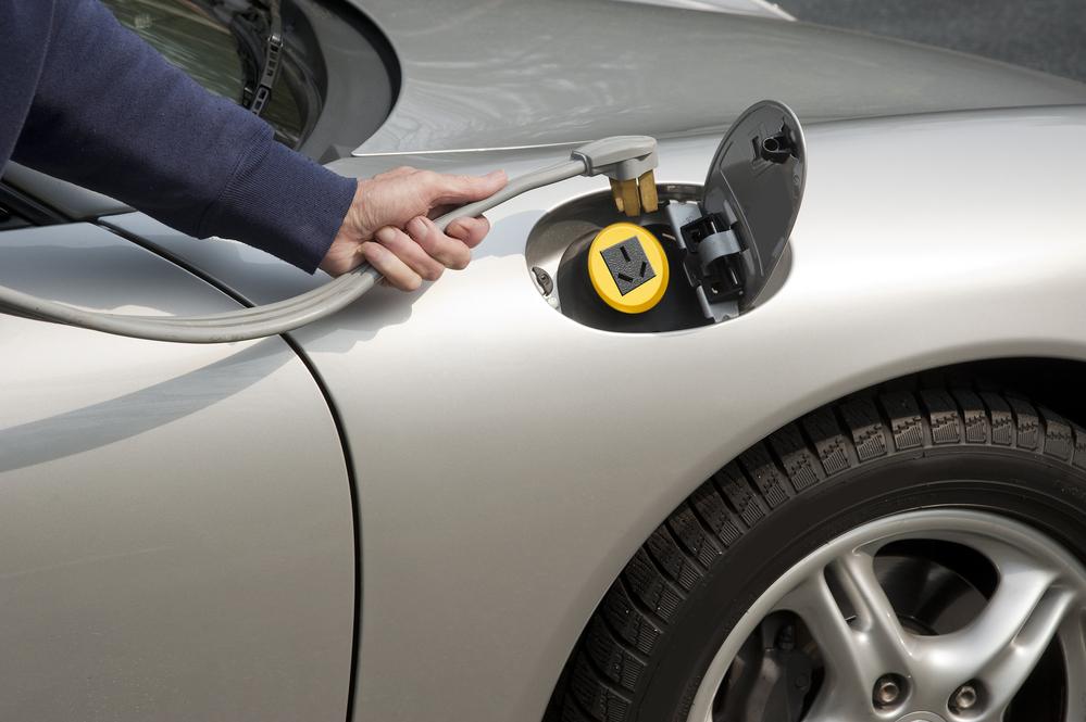 Recharging electric car