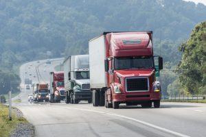 trucker-convoy-driving