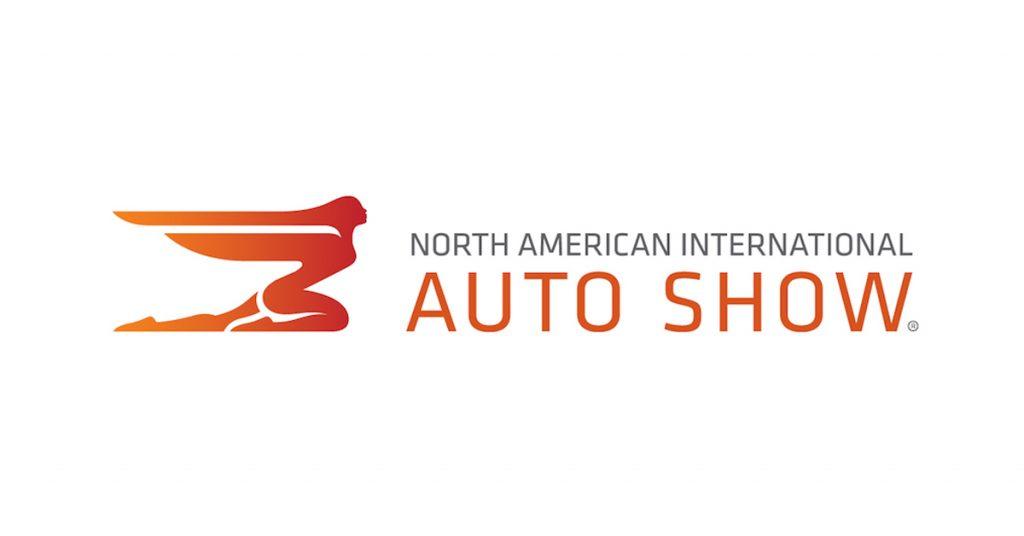 north american international auto show banner.
