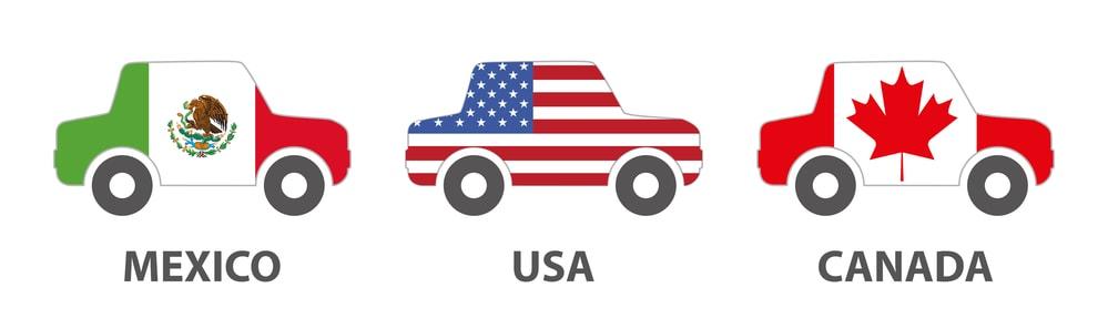 NAFTA-Mexico-USA-Canada-cars-min