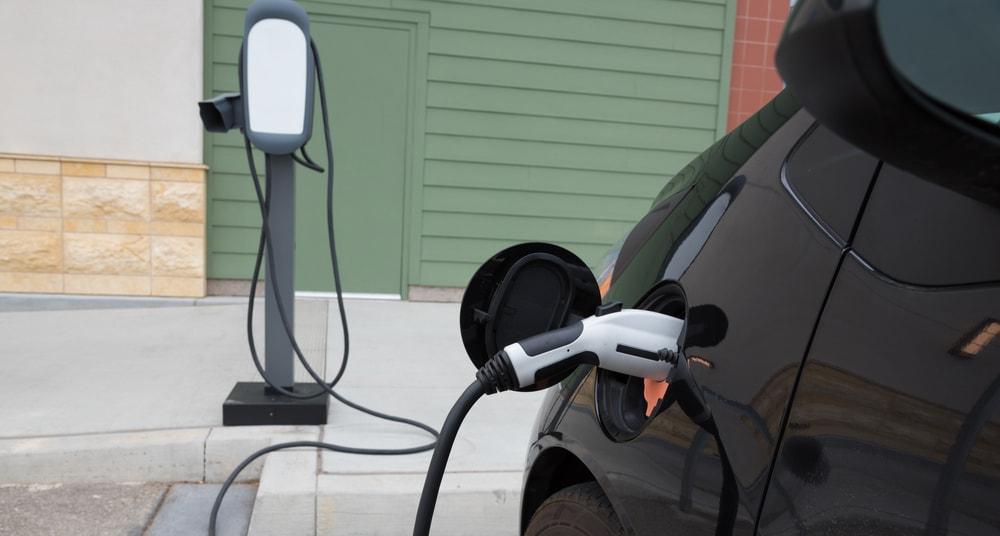 car charging california