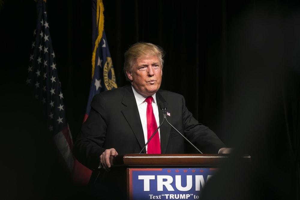 Republican President Donald Trump