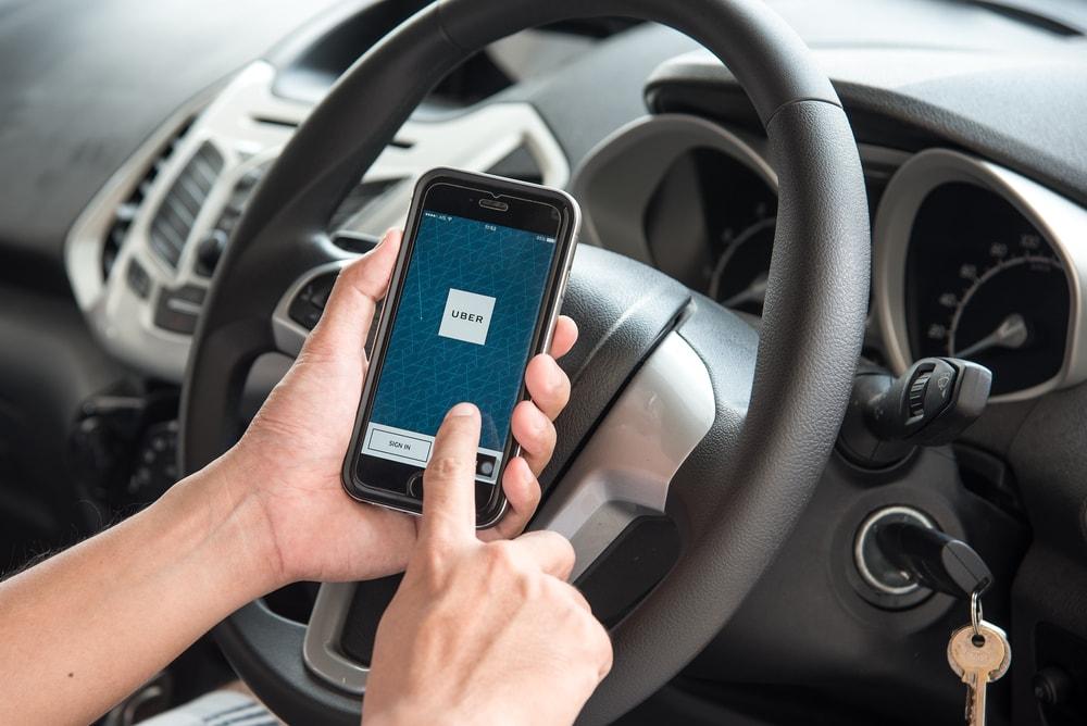 uber car app ridesharing