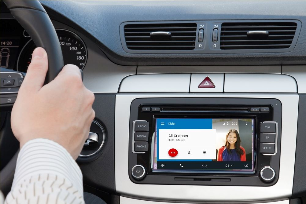 android auto call