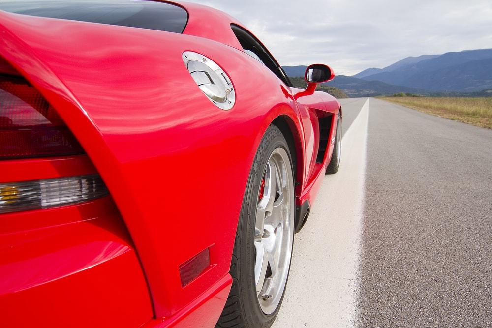 Dodge Viper SRT back