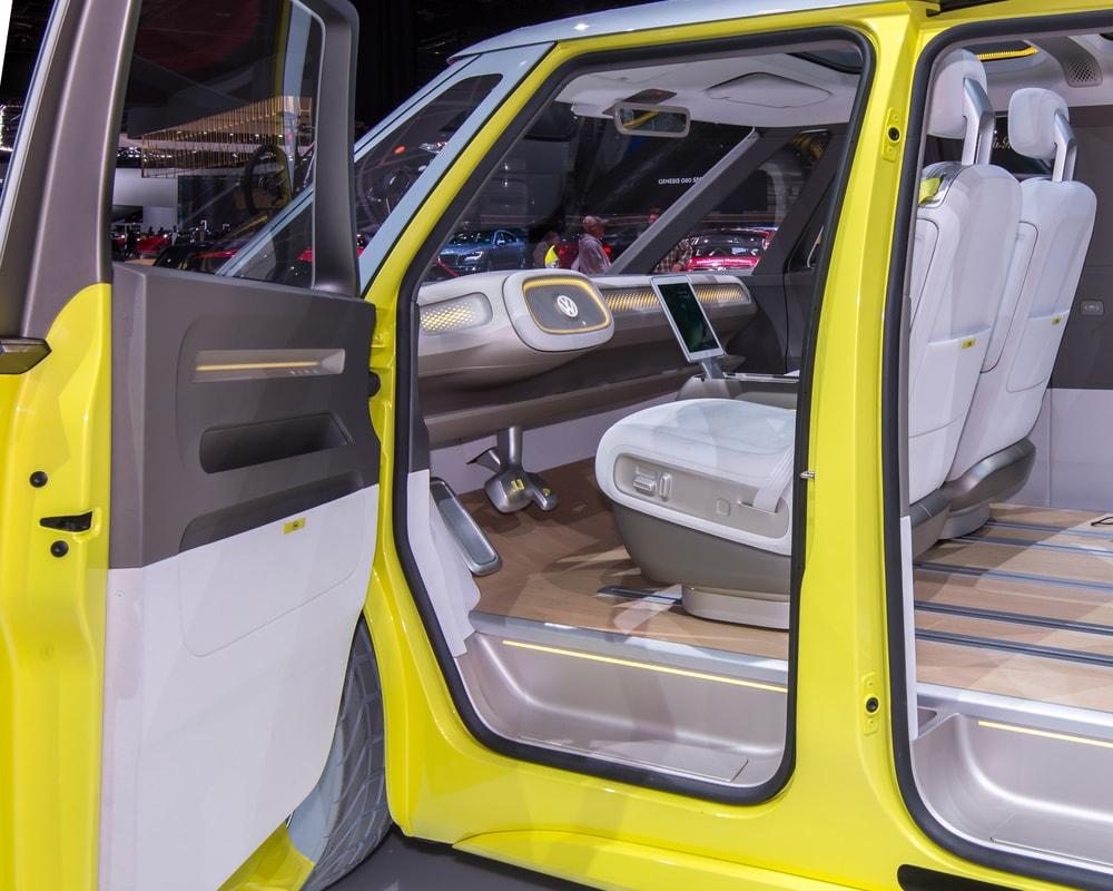 volkswagen ID Buzz driver seat
