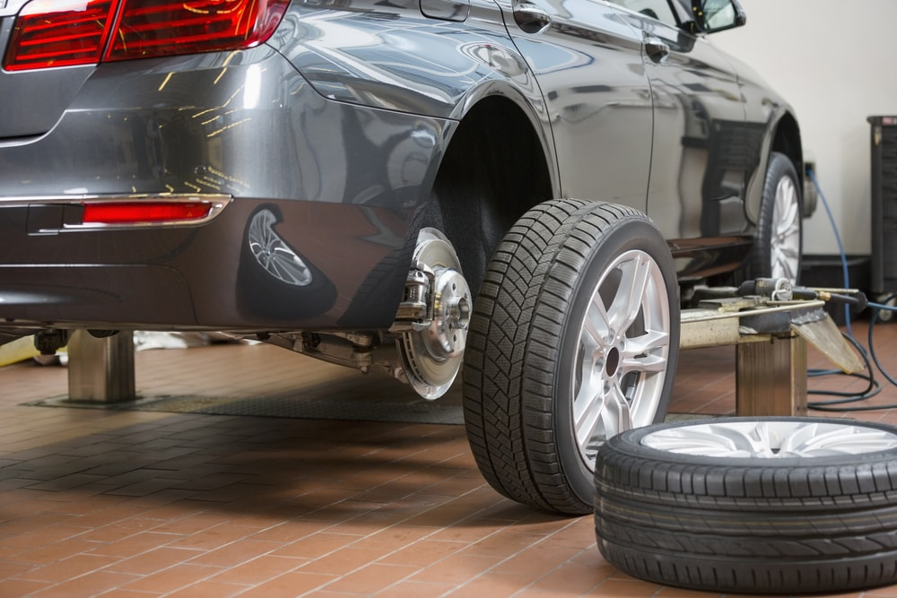 cars and tires