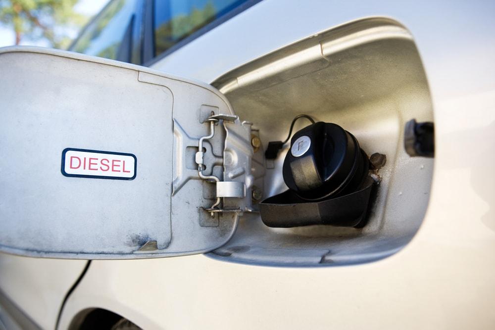 diesel car gas tank