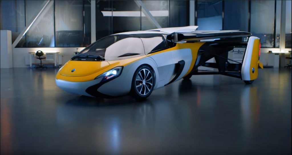 aeromobil prototype from prodrive