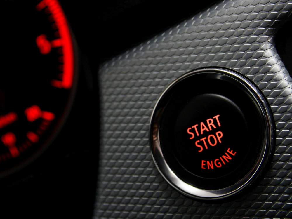 stop start feature on a new car