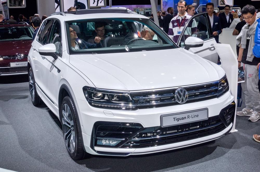 2018 Volkswagen Tiguan R Line