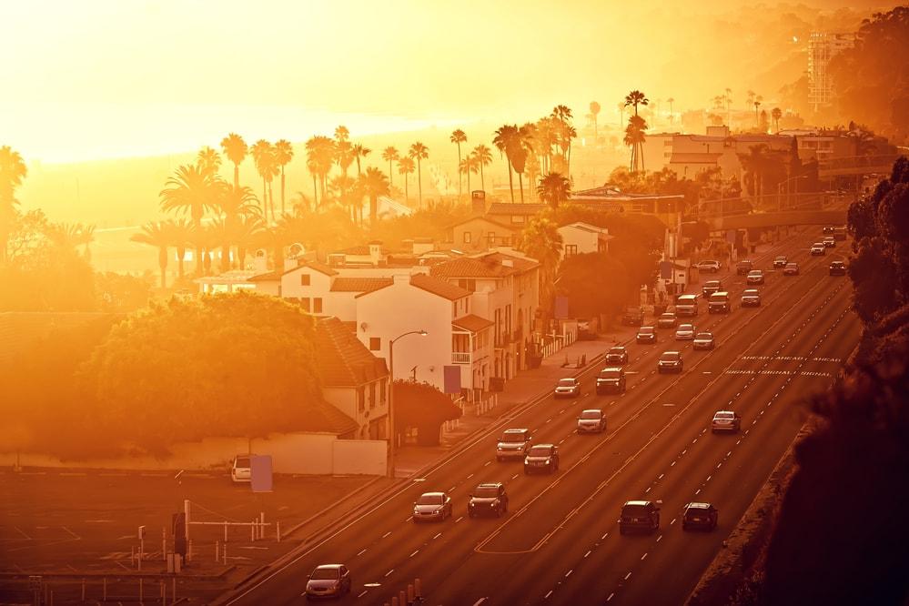 california traffic