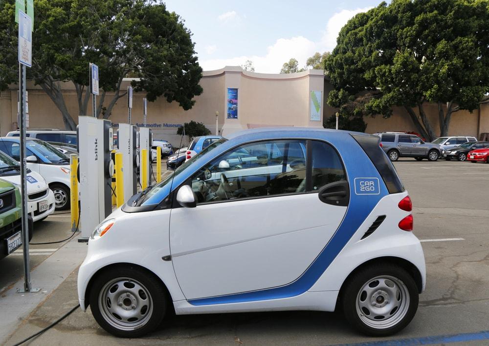 electric car california