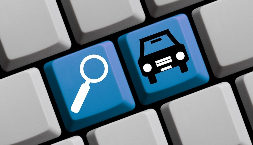 searching for cars online