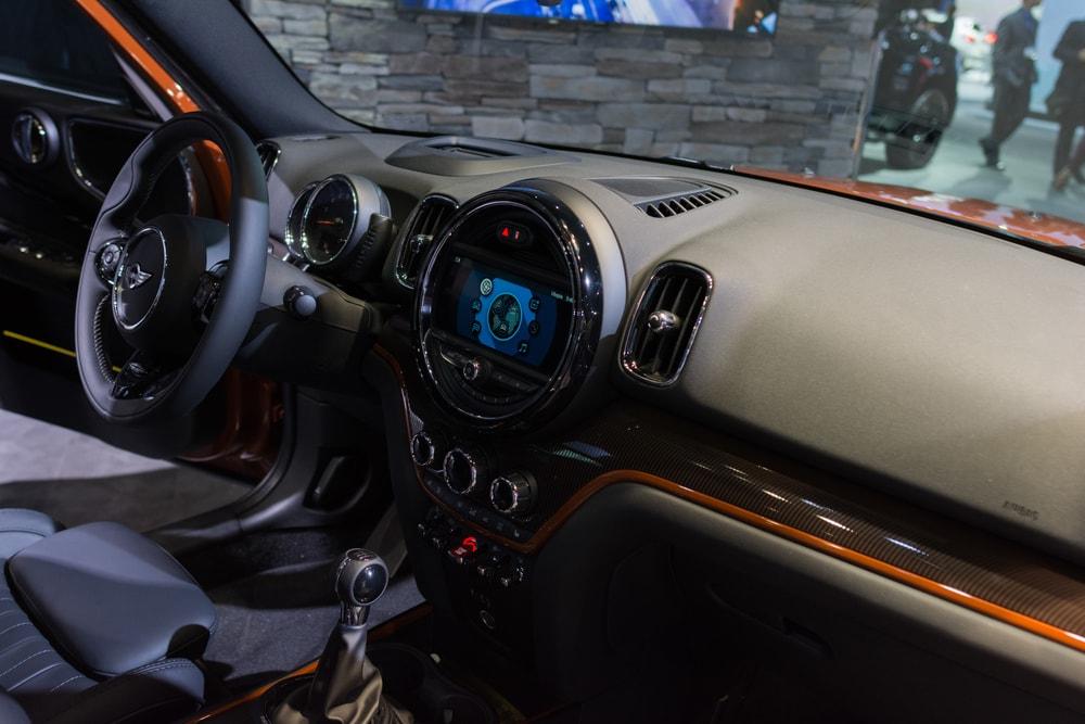 mini cooper concept interior